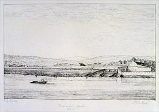 Point du Jour - Grenelle, Siege of Paris, 1870-1871. Artist: Paul Roux