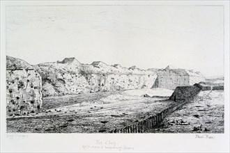 Fort d'Issy, Siege of Paris, 1870-1871. Artist: Paul Roux