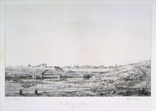 Siege of Paris, 1870-1871. Artist: Paul Roux