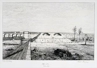 Grenelle, Siege of Paris, 1870-1871. Artist: Paul Roux