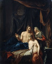 'Sarah Presenting Hagar to Abraham', late 17th/early 18th century. Artist: Adriaen van der Werff