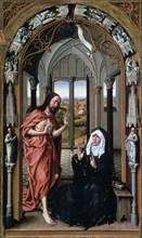 'Christ Appearing to His Mother', c1440.  Artist: Rogier Van der Weyden