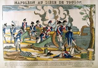 'Napoleon at the Siege of Toulon', 1793, (c1835). Artist: Francois Georgin