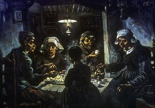 'The Potato Eaters', 1885. Artist: Vincent van Gogh