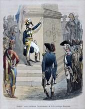 'Napoleon in Egypt', 1847.  Artist: Jean Adolphe Beauce