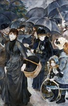 'The Umbrellas', 1881-1886. Artist: Pierre-Auguste Renoir