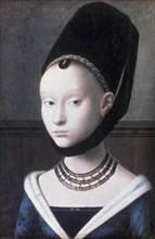 'Portrait of a Young Girl', c1460. Artist: Petrus Christus
