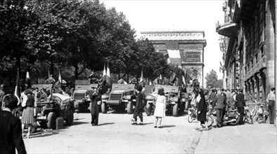 The liberation of Paris, August 1944. Artist: Unknown