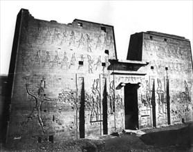 Edfu, Nubia, Egypt, 1878. Artist: Felix Bonfils