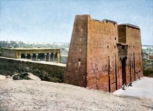 Temple of Horus, Edfu, Egypt, 20th Century. Artist: Unknown