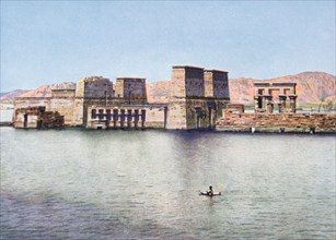 The Temple of Isis at Philae, Egypt, 20th century. Artist: Unknown
