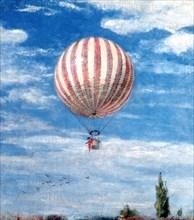 'Balloon', 1878. Artist: Pal Szinyei Merse