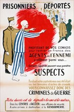 French Ministry of War poster, c1945-1946.  Artist: Chaix