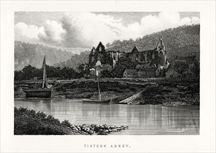 Tintern Abbey, Monmouthshire, England, 1896. Artist: Unknown