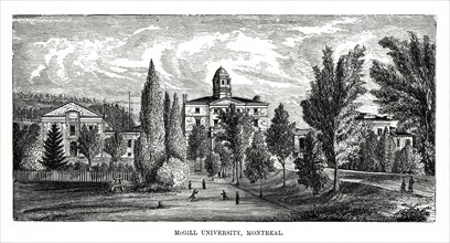 McGill University, Montreal, Canada, 19th century. Artist: Unknown