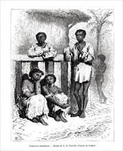 Indigenous people, Venezuela, 19th century. Artist: A de Neuville