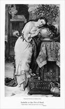 'Isabella and the Pot of Basil', c1867. Artist: William Holman Hunt
