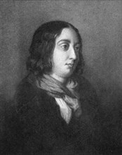 George Sand, French novelist and early feminist, 19th century. Artist: Calamatta