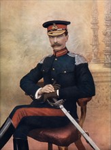 Major-General JM Babington, commanding 1st Cavalry Brigade in South Africa, 1902.Artist: C Knight