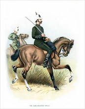 'The Cape Mounted Rifles', c1890.Artist: H Bunnett