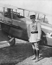 Rene Paul Fonck, French fighter ace, 1918. Artist: Unknown