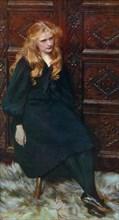 'Ethel', 1897, (1912).Artist: Ralph Peacock