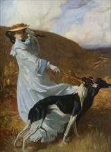 'Diana of the Uplands', c1903-1904, (1912).Artist: Charles Wellington Furse