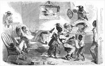 'Slaves Celebrating Liberation', c1860s. Artist: Unknown