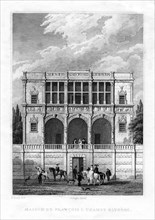 The house of Francis I, Champs-Elysees, Paris, 1830. Artist: Unknown