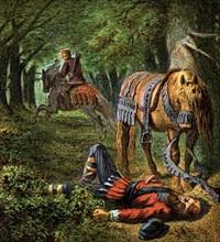 'Death Of William The Second', 1100, (c1850). Artist: Unknown