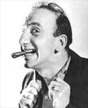 Jimmy Durante, American singer, pianist, actor and comedian, 1934-1935. Artist: Unknown