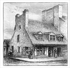 Old French house, Quebec, Canada, 1900. Artist: A Forsyth