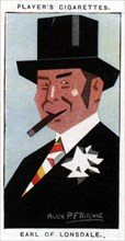 Hugh Cecil Lowther, 5th Earl of Lonsdale, British sportsman, 1926.Artist: Alick P F Ritchie