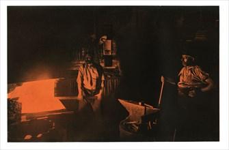 The Smithy, 1901.Artist: Waldemar Titzenthaler