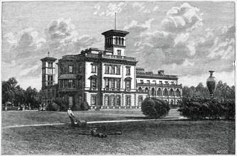 Osborne House, East Cowes, Isle of Wight, 1900. Artist: J Valentine