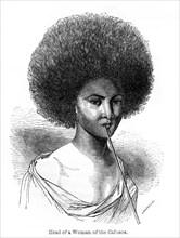 'Head of a Woman of the Cafusos', 1848.Artist: Ebenezer Landells