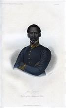'Jan Tzatzoe, Kafir of the Amakosah Tribe', 1848.Artist: J Bull