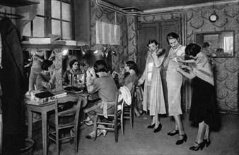 Models at a great dressmakers, Paris, 1931. Artist: Ernest Flammarion