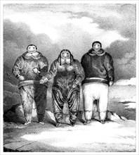 'Poyettak, Kakikagiu, Aknalua', early 19th century.Artist: John Brandard