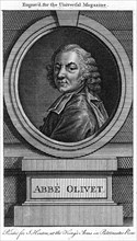 Pierre-Joseph Thoulier d'Olivet, French clergyman and man of letters, 18th century. Artist: Unknown