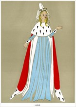 Costume of 1486, early to mid 20th century. Artist: Unknown