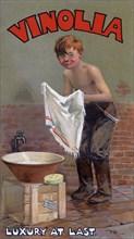 Advert for Vinolia soap, c1900s Creator: Unknown.