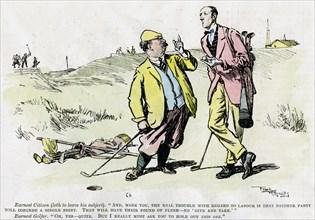 'Golf', 1919. Artist: Unknown