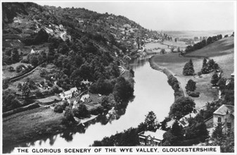 Wye Valley, Gloucestershire, 1936. Artist: Unknown