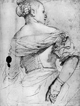 Study of a woman, 1913.Artist: Paolo Veronese