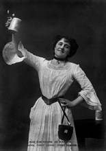 Eva Moore as 'Kathie' in Boys, First Come, First Served, 1903.Artist: Ellis & Walery