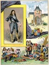 Turenne, Henri de La Tour d?Auvergne, marshal of France, 1898. Artist: Gilbert