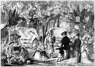 The Fete des Loges, St-Germain-en-Laye, France, 1874. Artist: Unknown
