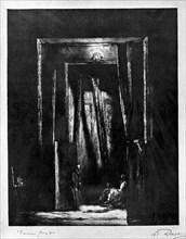 'The Sinister Interior', 1930.Artist: L Daviel