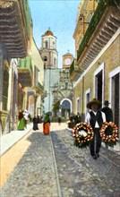 Guanajuata, Mexico, 1910.Artist: Fred Harvey